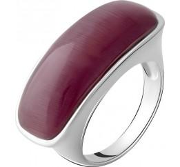 Серебряное кольцо SilverBreeze с кошачим глазом (2054924) 18 размер