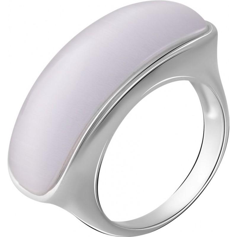 Серебряное кольцо SilverBreeze с кошачим глазом (2054856) 17.5 размер