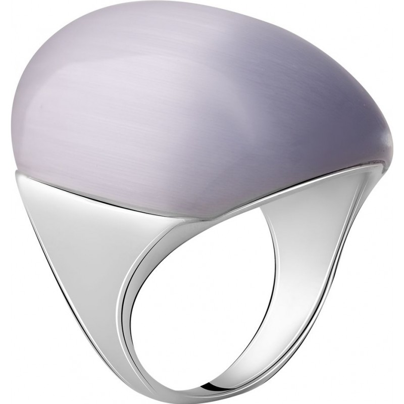 Серебряное кольцо SilverBreeze с кошачим глазом (2054221) 18 размер