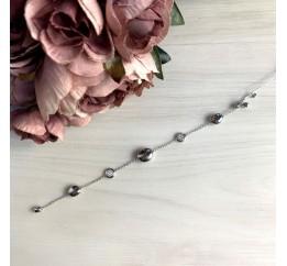 Серебряный браслет SilverBreeze с фианитами (2053699) 1720 размер