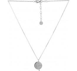 Серебряное колье SilverBreeze без камней (2053071) 500 размер
