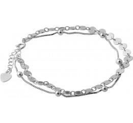 Серебряный браслет SilverBreeze без камней (2052821) 1720 размер