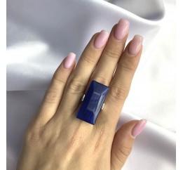 Серебряное кольцо SilverBreeze с кошачим глазом (2052586) 17 размер