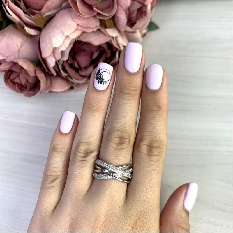 Серебряное кольцо SilverBreeze с  (2051282) 16 размер