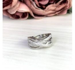Серебряное кольцо SilverBreeze с  (2051282) 17 размер