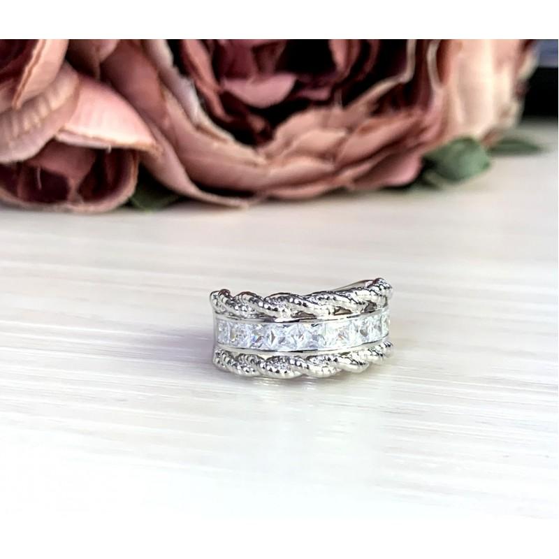 Серебряное кольцо SilverBreeze с  (2051268) 17 размер