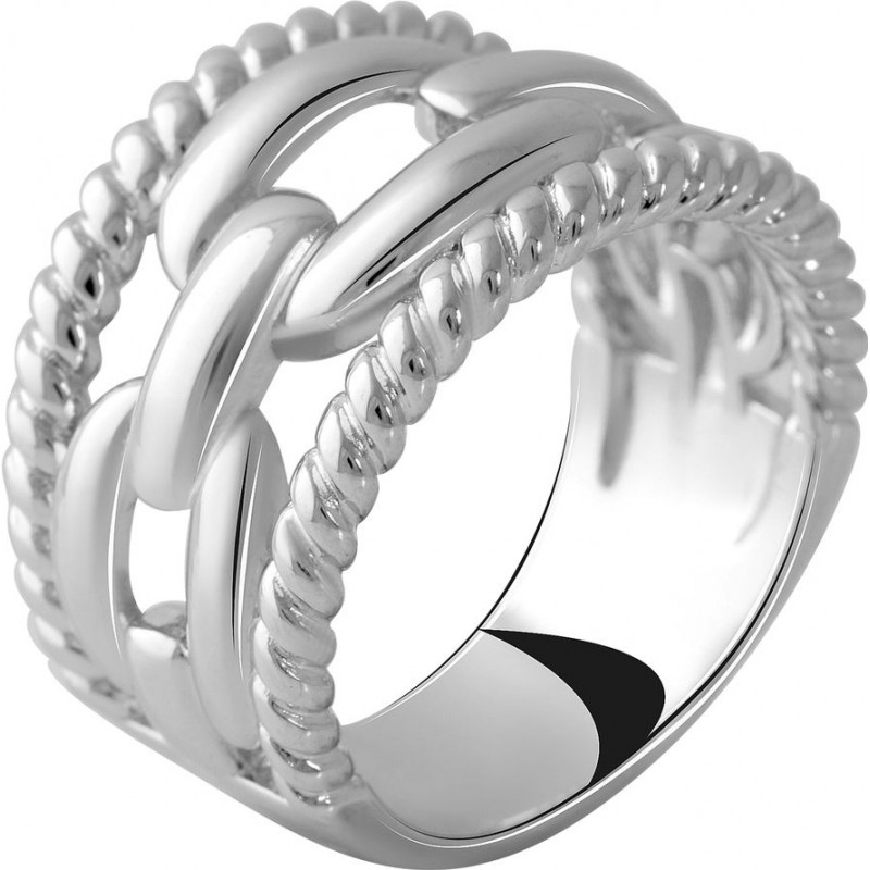 Серебряное кольцо SilverBreeze без камней (2051220) 17.5 размер