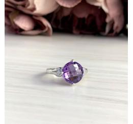 Серебряное кольцо SilverBreeze с олександритом 4.66ct (2050421) 18.5 размер