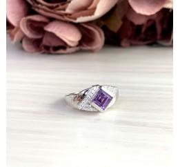 Серебряное кольцо SilverBreeze с олександритом 2.11ct (2050322) 17 размер