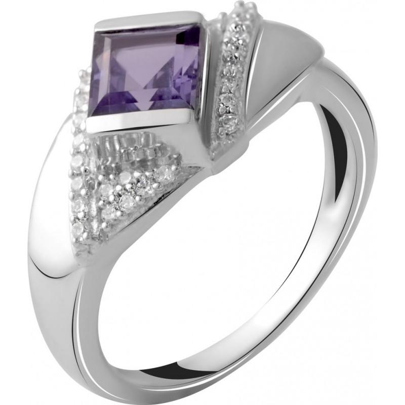 Серебряное кольцо SilverBreeze с олександритом 2.11ct (2050322) 18 размер