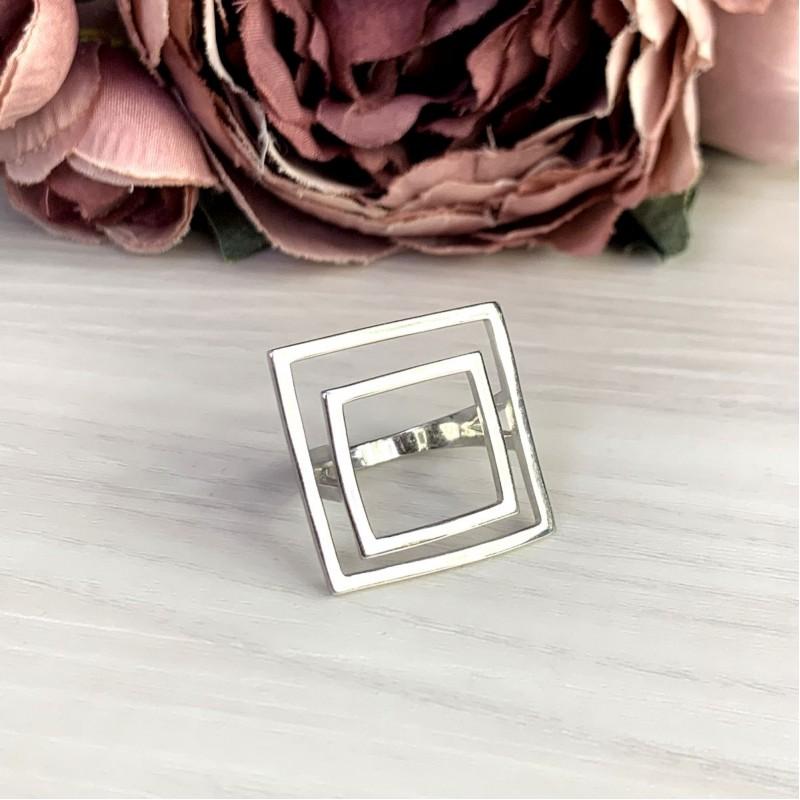 Серебряное кольцо SilverBreeze без камней (2049593) 18.5 размер