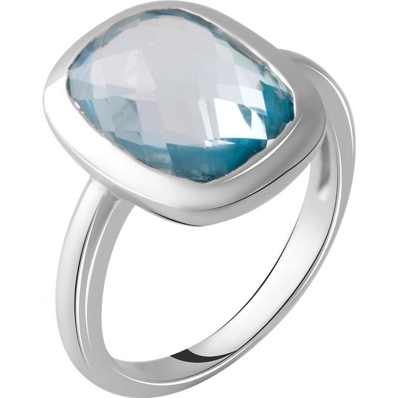 Серебряное кольцо SilverBreeze с натуральным топазом 7.33ct (2049487) 17.5 размер