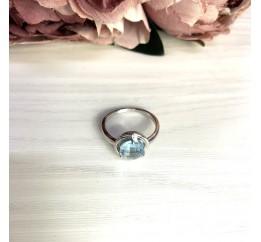 Серебряное кольцо SilverBreeze с натуральным топазом 2.11ct (2049340) 17.5 размер
