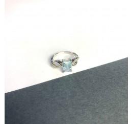Серебряное кольцо SilverBreeze с натуральным топазом 2.239ct (2049227) 17 размер