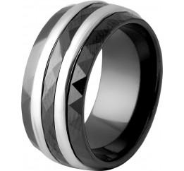 Серебряное кольцо SilverBreeze с керамикой (2048244) 16.5 размер