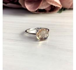 Серебряное кольцо SilverBreeze с морганитом nano 2.168ct (2045625) 17.5 размер