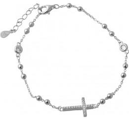 Серебряный браслет SilverBreeze с фианитами (2044376) 1720 размер