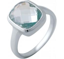 Серебряное кольцо SilverBreeze с натуральным топазом 5.53ct (2042600) 17 размер