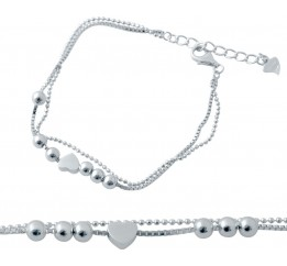 Серебряный браслет SilverBreeze без камней (2036937) 1720 размер