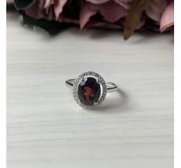 Серебряное кольцо SilverBreeze с натуральным гранатом 2.48ct (2035015) 18.5 размер