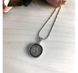 Серебряная подвеска SilverBreeze с фианитами (2032878)