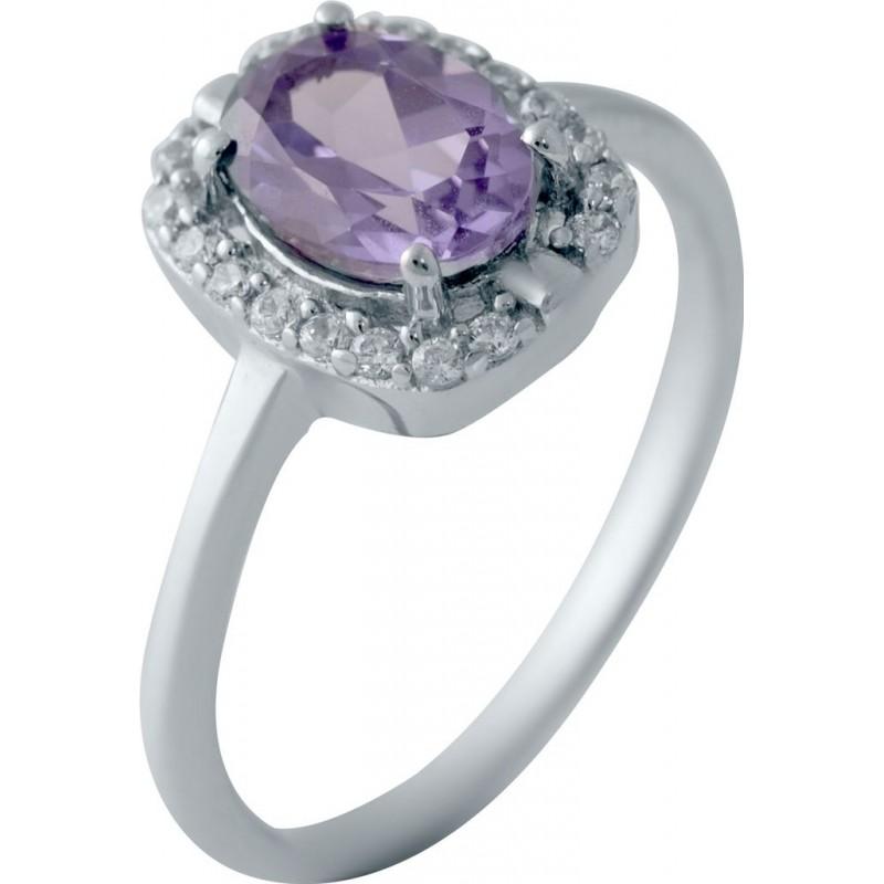 Серебряное кольцо SilverBreeze с олександритом 1.958ct (2029014) 17 размер