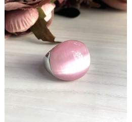 Серебряное кольцо SilverBreeze с кошачим глазом (2022770) 18 размер