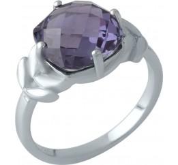 Серебряное кольцо SilverBreeze с олександритом (1994436) 19 размер