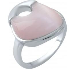 Серебряное кольцо SilverBreeze с кошачим глазом (1974995) 17 размер