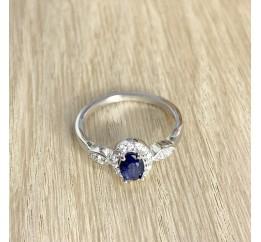 Серебряное кольцо SilverBreeze с натуральным сапфиром 0.858ct (1971215) 18.5 размер