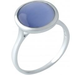 Серебряное кольцо SilverBreeze с кошачим глазом (1955444) 17 размер