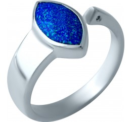 Серебряное кольцо SilverBreeze с опалом 0.73ct (1919743) 18.5 размер