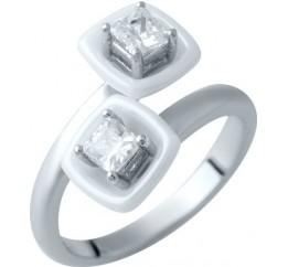 Серебряное кольцо SilverBreeze с , керамикой (1908907) 17 размер