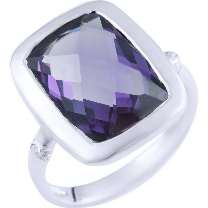 Серебряное кольцо SilverBreeze с олександритом 7.688ct (1892381) 17.5 размер