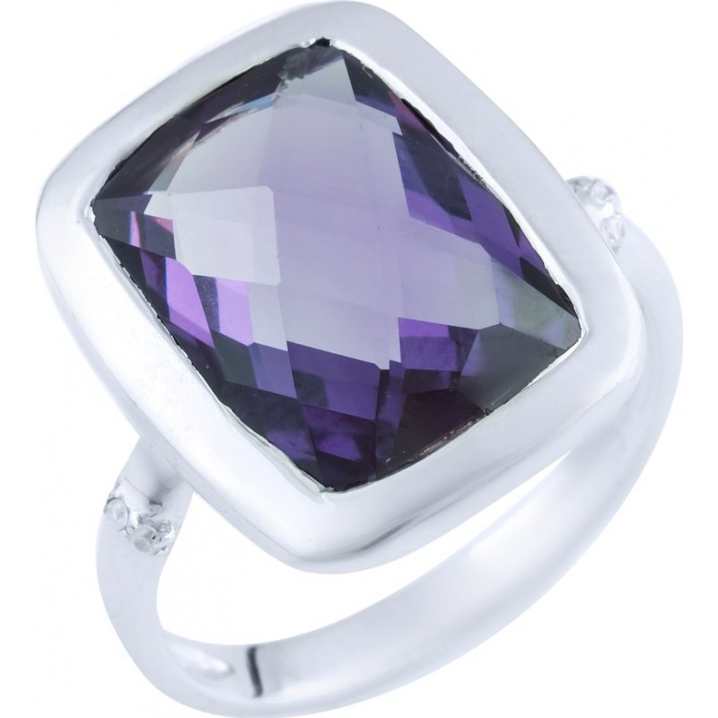 Серебряное кольцо SilverBreeze с олександритом 7.688ct (1892381) 18 размер