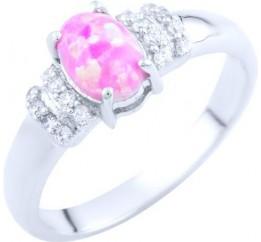 Серебряное кольцо SilverBreeze с опалом 0.542ct (1765616) 18.5 размер