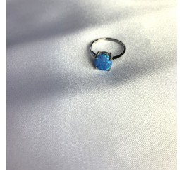 Серебряное кольцо SilverBreeze с опалом 0.905ct (1633830) 17.5 размер
