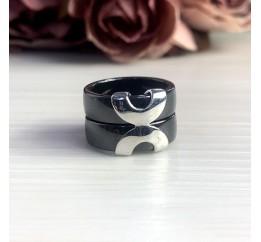 Серебряное кольцо SilverBreeze с керамикой (1539347) 16.5 размер