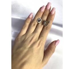 Серебряные серьги SilverBreeze с натуральным гранатом 2.61ct (1512821)