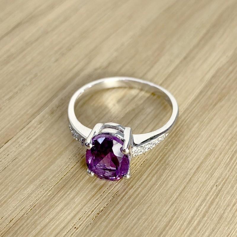 Серебряное кольцо SilverBreeze с олександритом 2.57ct (1186060) 17.5 размер
