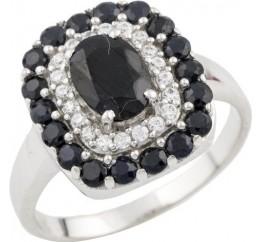 Серебряное кольцо SilverBreeze с натуральным сапфиром 1.898ct (0468877) 17.5 размер