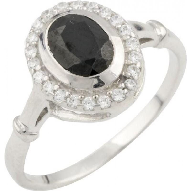 Серебряное кольцо SilverBreeze с натуральным сапфиром 1.29ct (0468518) 17.5 размер