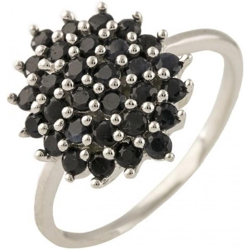 Серебряное кольцо SilverBreeze с натуральным сапфиром 1.44ct (1239216) 17.5 размер