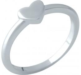 Серебряное кольцо SilverBreeze без камней (2002123) 16 размер