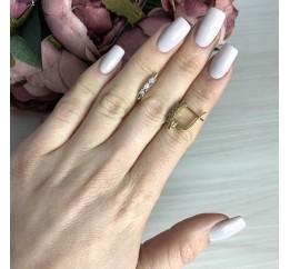 Серебряные серьги SilverBreeze с натуральными бриллиантом 0.06ct (2074489)