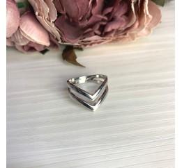 Серебряное кольцо SilverBreeze без камней (2067832) 16.5 размер
