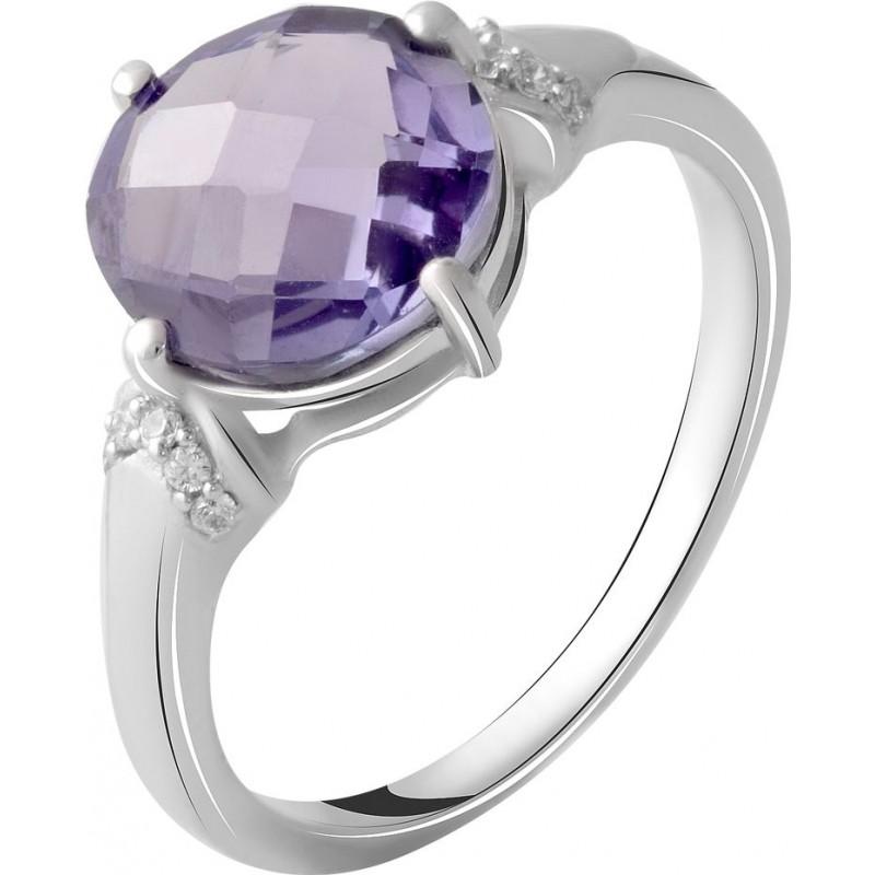 Серебряное кольцо SilverBreeze с александритом 4.66ct (2050421) 17 размер