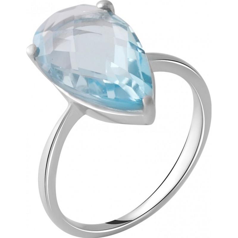Серебряное кольцо SilverBreeze с натуральным топазом 5.1ct (2049449) 18.5 размер