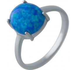 Серебряное кольцо SilverBreeze с опалом 1.828ct (2024132) 18 размер