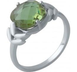 Серебряное кольцо SilverBreeze с Султанит султанитом 3.425ct (2007494) 18.5 размер